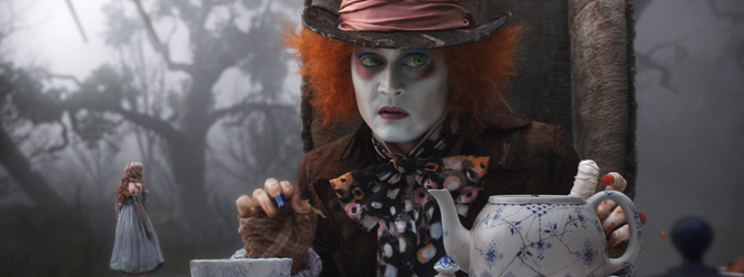 Incep filmarile la Alice in Wonderland: Through the Looking Glass