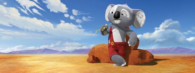 Andi Vasluianu – voce in animatia Blinky Bill