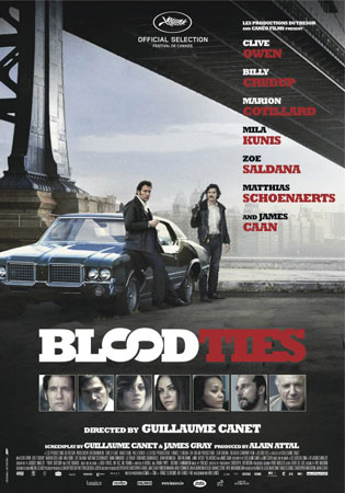 Blood Ties de Guillaume Canet inchide BIFF 2014