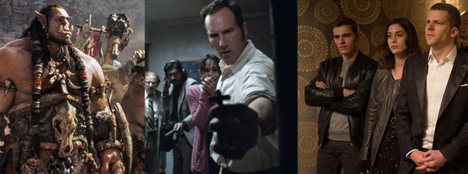 The Conjuring 2 domina box-office-ul american, Warcraft pe cel international