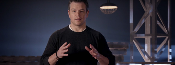 Video: Matt Damon recapituleaza trilogia Bourne in 90 de secunde!