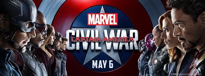 CineReview: Captain America - Civil War