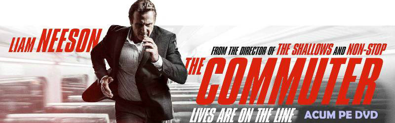 The Commuter pe DVD