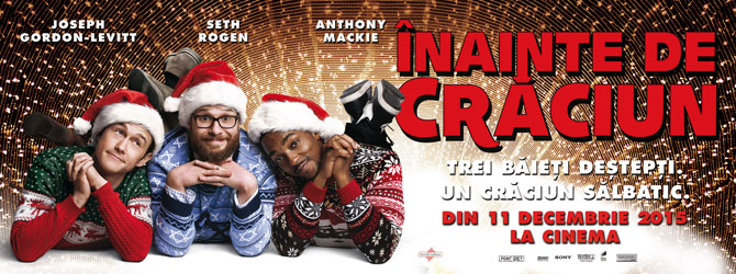 Invitatii la comedia Inainte de Craciun / The Night Before