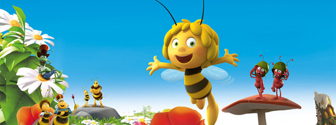 Invitatii la animatia Albinuta Maya / Maya the Bee