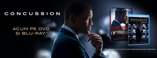 Empire Film lanseaza Concussion pe Blu-ray si DVD