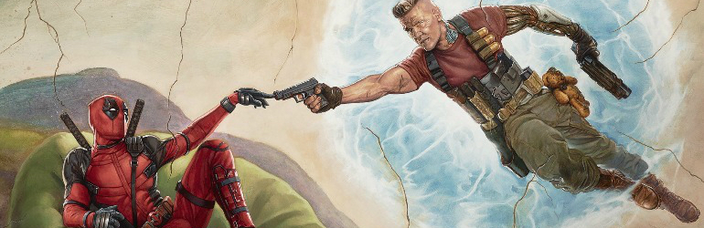 Deadpool 2 pe Blu-ray STEELBOOK, Blu-ray şi DVD