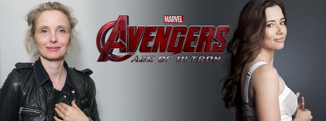 Julie Delpy si Linda Cardellini in Avengers: Age of Ultron