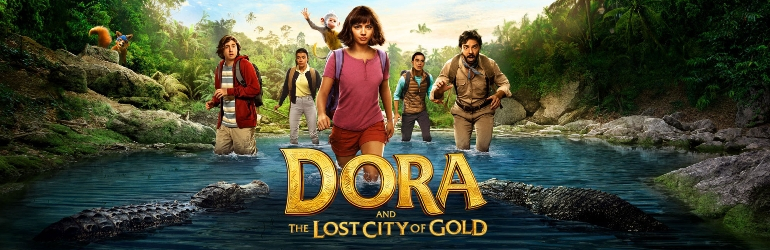 Dora and the Lost City of Gold pe Blu-ray si DVD