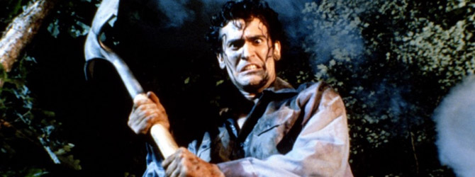 Bruce Campbell in serialul Ash Vs. Evil Dead!