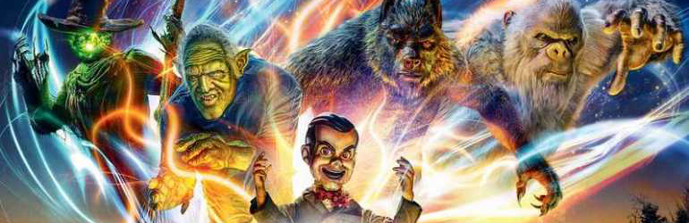 Goosebumps 2: Haunted Halloween pe 4K UHD, Blu-ray si DVD