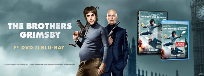 Comedia The Brothers Grimsby s-a lansat pe Blu-ray si DVD