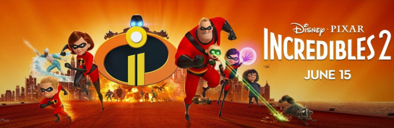 The Incredibles 2 pe DVD