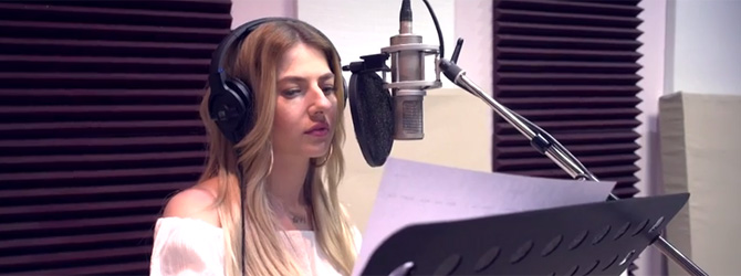 Video: Lidia Buble debuteaza in dublajul de film cu animatia Storks