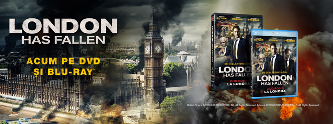 London Has Fallen - acum pe Blu-ray si DVD