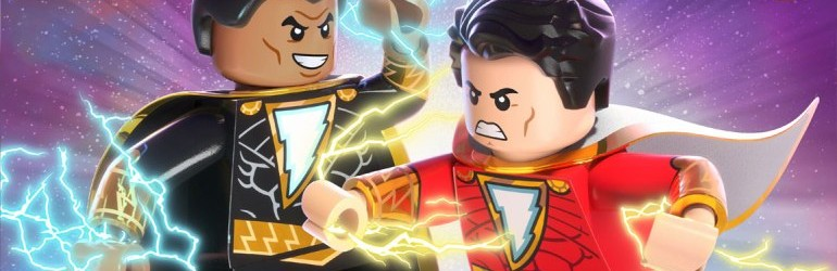 Lego DC Shazam: Magic and Monsters pe DVD