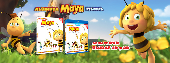 Nou pe Blu-ray si DVD: Maya The Bee - Movie
