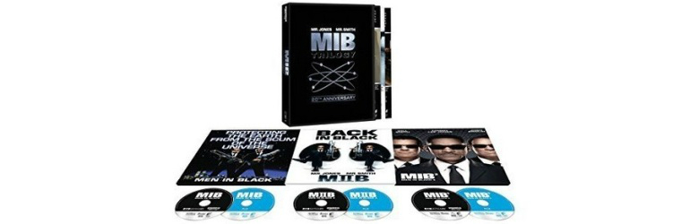 Trilogia Men in Black pe 4K UHD