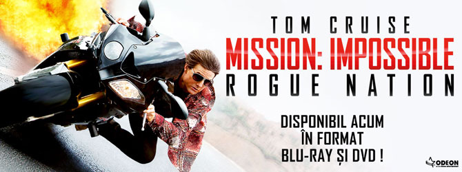 Nou pe Blu-ray si DVD - Mission: Impossible - Rogue Nation