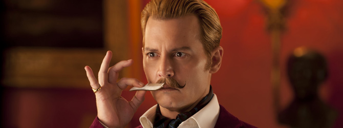 Mortdecai – esec in SUA, succes in Romania