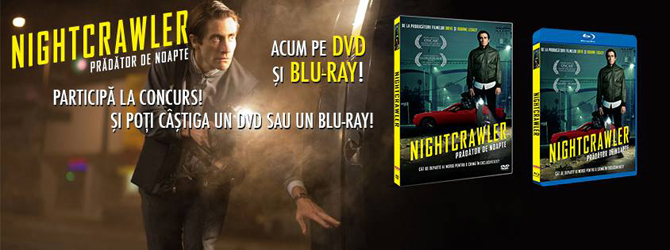 Nou pe Blu-ray si DVD: Nightcrawler, Northmen, The Giver si Mortdecai
