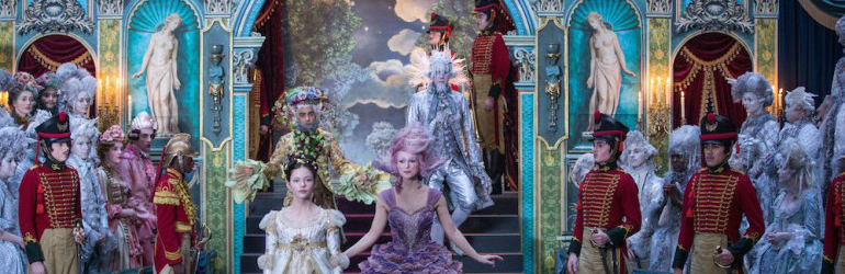 The Nutcracker and the Four Realms pe DVD