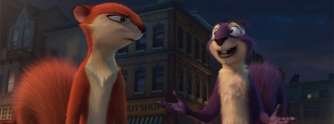 Goana dupa alune continua in primul trailer la The Nut Job 2!