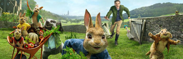 Peter Rabbit in 4K UHD, Blu-ray si DVD