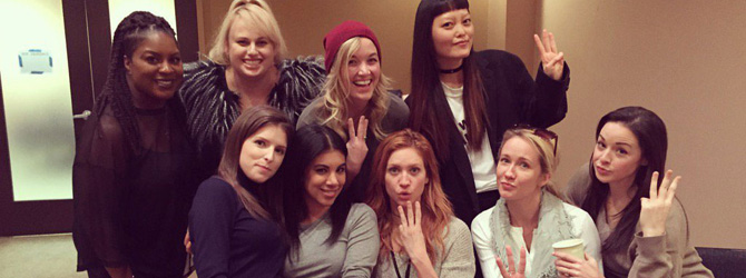 Au inceput filmarile la Pitch Perfect 3!