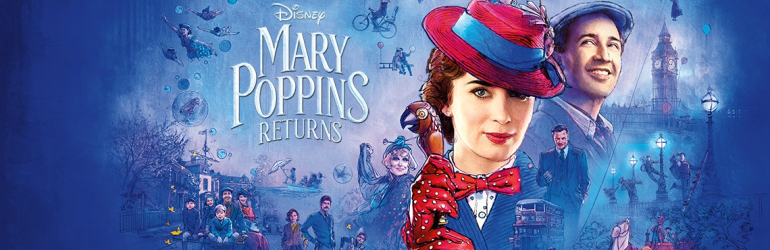 Mary Poppins Returns pe DVD