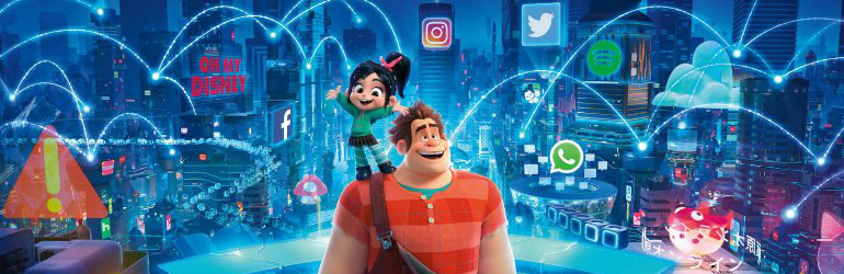 Ralph Breaks the Internet pe DVD