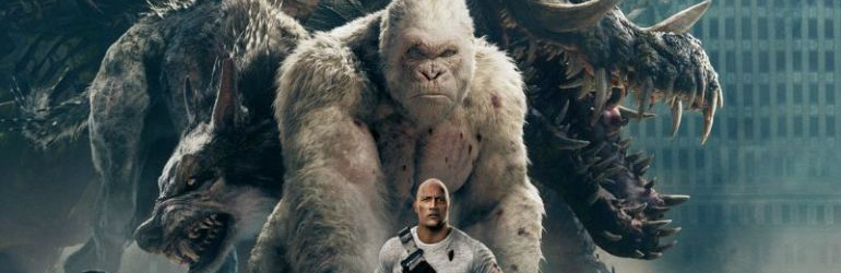 CineReview: Rampage, Chicago sub asediu