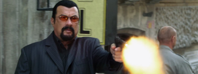 Steven Seagal si Florin Piersic Jr. in primul trailer la End of a Gun