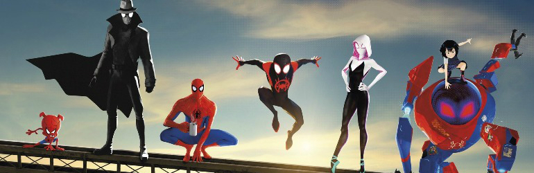 Spider-Man Into the Spider-Verse pe Blu-ray 3D, 4K UHD, Blu-ray si DVD