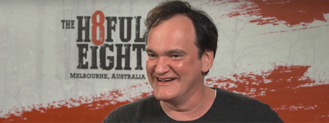 "Video: Quentin Tarantino despre ""The Hateful Eight"""
