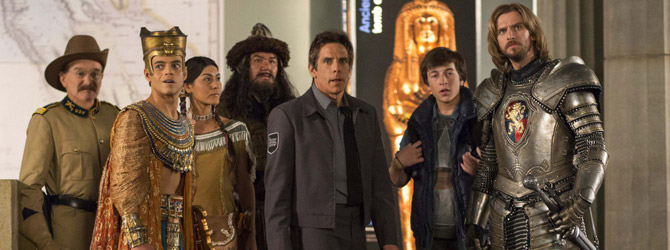 Nou pe Blu-ray si DVD: Night at the Museum: Secret of the Tomb