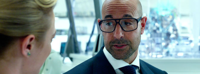 Stanley Tucci in Beauty and the Beast