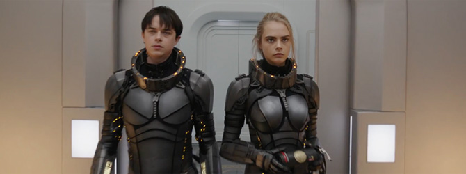 Primul trailer la Valerian and the City of a Thousand Planets: Spectaculosul SF-ul al lui Luc Besson