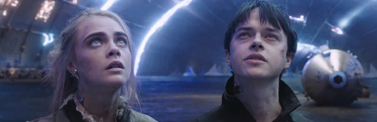 Valerian and the City of a Thousand Planets pe DVD