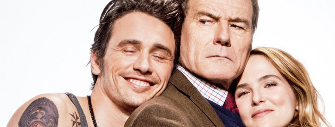 Bryan Cranston vs. James Franco in primul trailer al comediei Why Him?