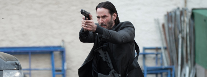 Keanu Reeves revine spectaculos: John Wick nr. 1 in box-office-ul romanesc