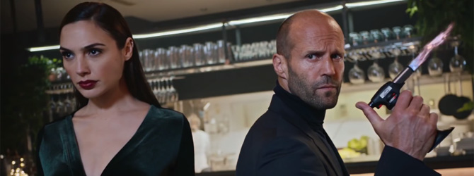 Video: Jason Statham si Gal Gadot in reclama la Wix