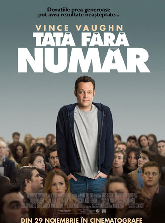 Vince Vaughn revine la cinema cu comedia Delivery Man